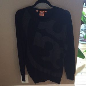 Tory Burch logo sweater